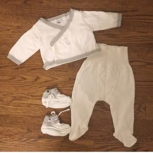 French DPAM Baby Layette Set